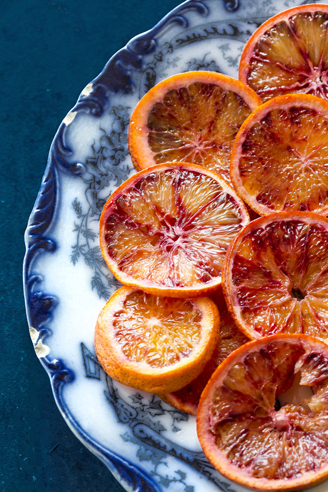 Blood Oranges Food Photographer UK Niland