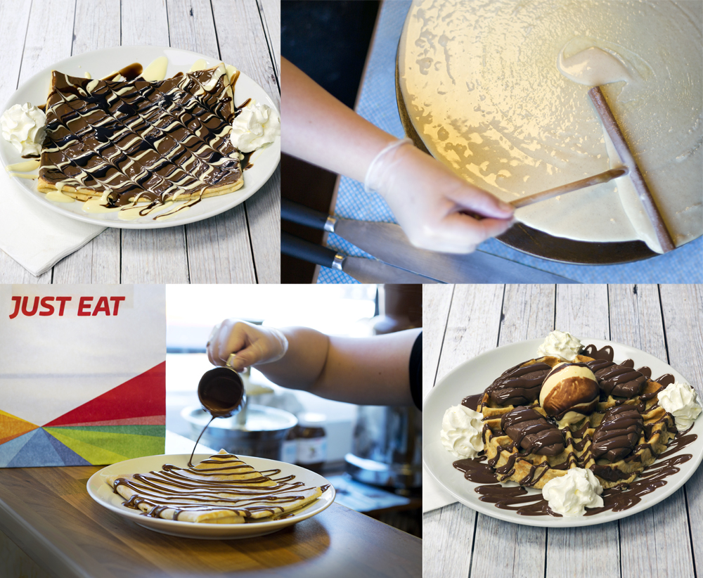 Photographing Food In Liverpool For Just Eat