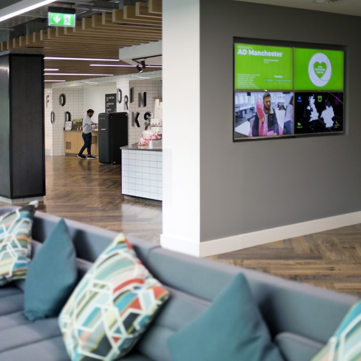 Ao Manchester, the space group, interior, commercial photography