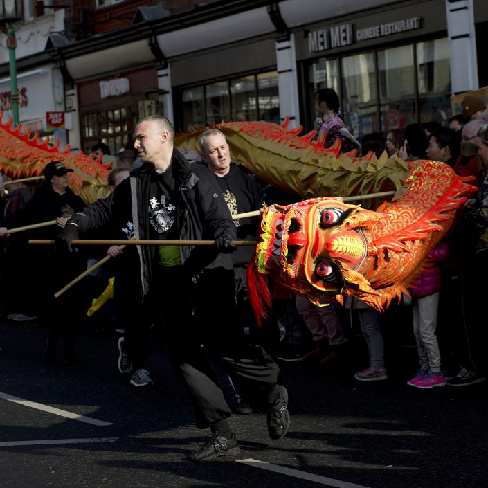 Liverpool Chinese New Year, Year of the Dog 2018, Dragon infront of entrance to China Town, 2018, Year of the Dog, Chinese culture, celegbrations, event phototography