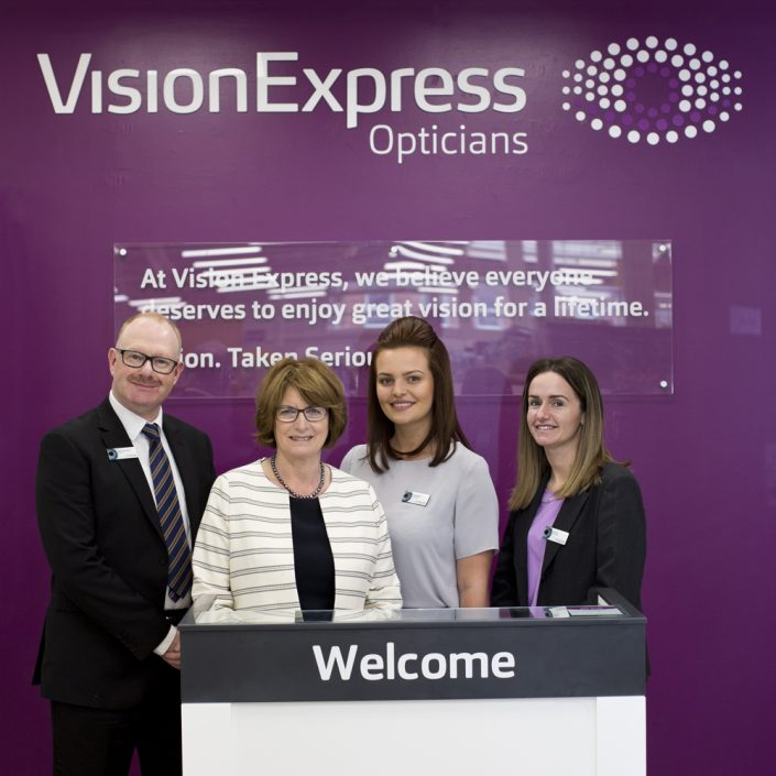 Louise Ellman MP opens new Vision Express Store in her Riverside constituency