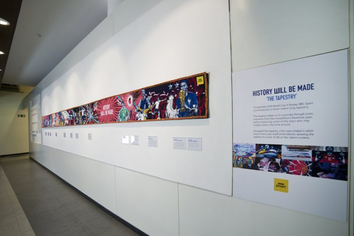 National Football Museum, Manchester, BBC Sport, Commercial Photographer Manchester