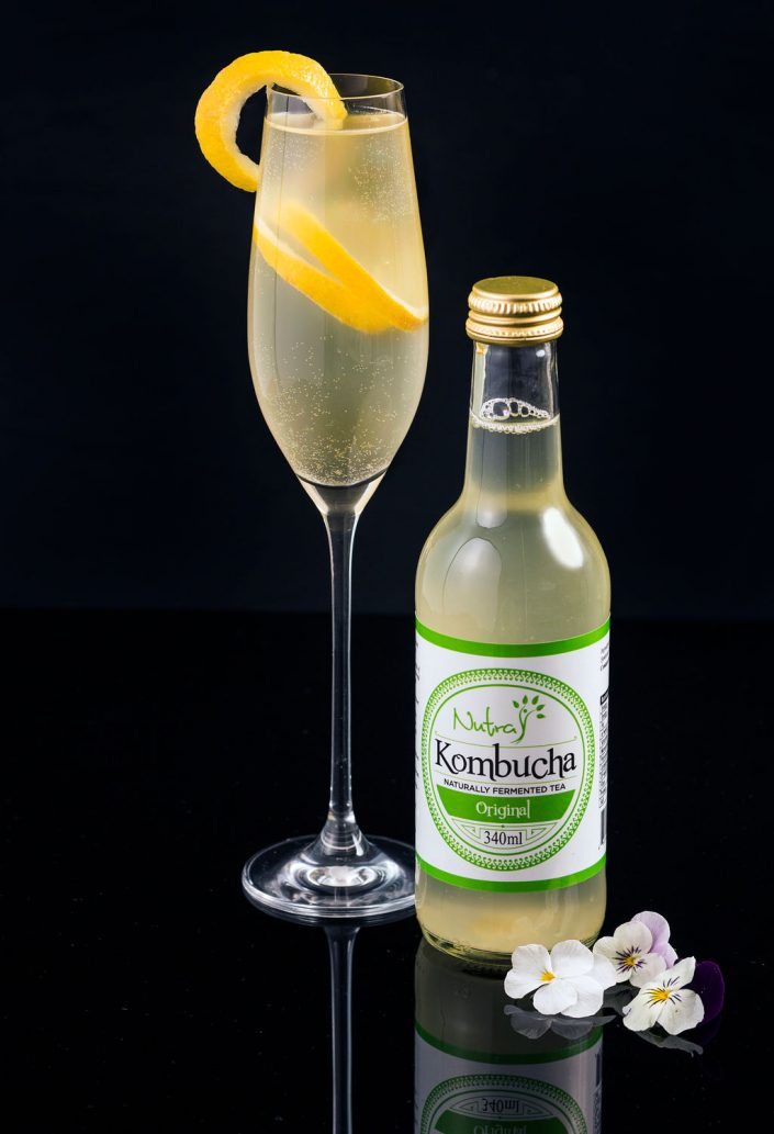 Drinks photographer Kombucha Cocktail Patricia Niland Drinks Photography