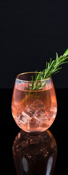 Food Drink photographer Kombucha Cocktail Glass Patricia Niland Drinks Photography