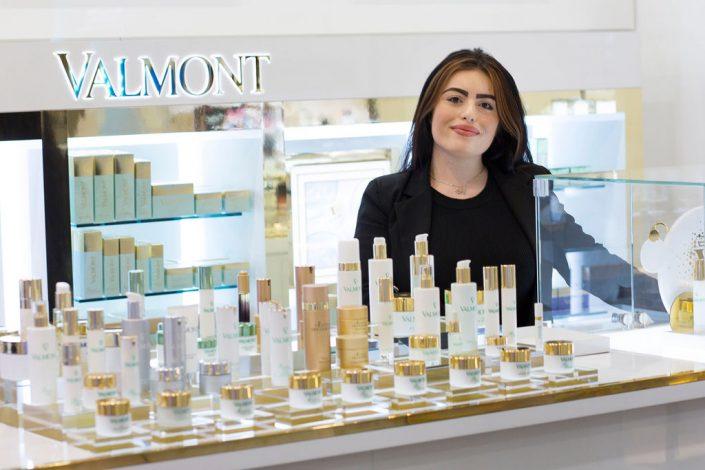 Valmont skincare beauty counter Harvey Nichols Beauty Bazzaar LiverpoolOne
